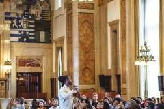 2017-06-28 Keti Koti Lecture Leo Balai & Malique Mohamud (foto's Stacii Samidin/ CBK Rotterdam)