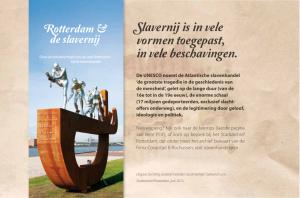 brochure rotterdam en de slavernij
