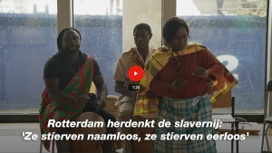 Video Rotterdam herdenkt slavernij